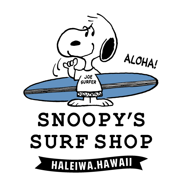 HALEIWA TOWN SNOOPYS SURF SHOP